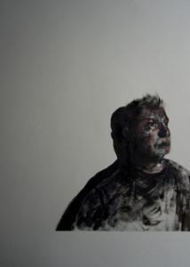 Self-Portrait with Shadow I, by Lee Hardman