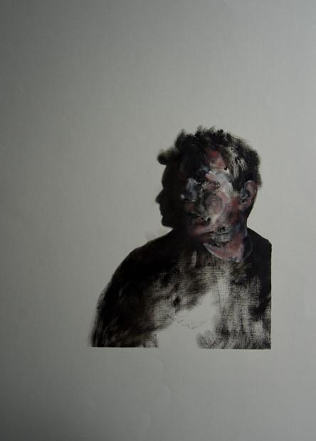 Self-Portrait with Shadow III
