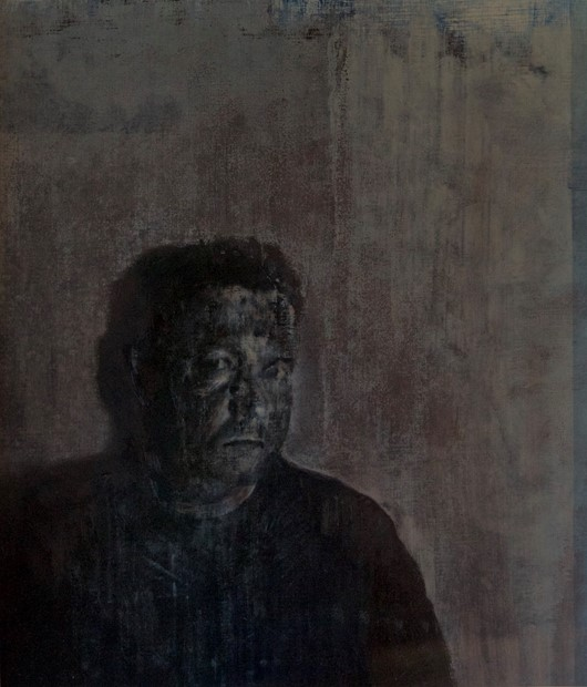 Self-Portrait with Shadow