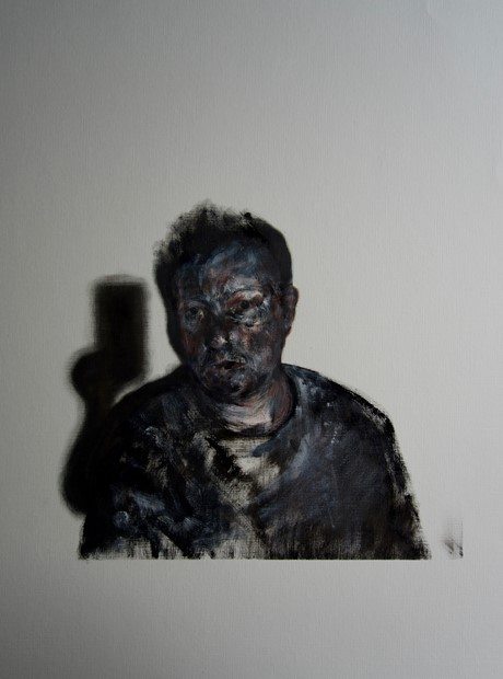 Self-Portrait with Shadow II