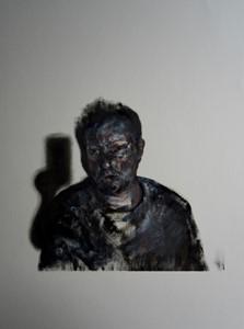 Self-Portrait with Shadow II, by Lee Hardman