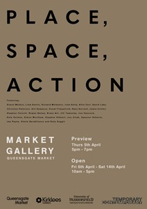 PLACE, SPACE, ACTION, by Joe Hancock