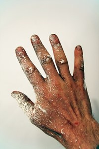 Hand of the artist, by Joe Hancock