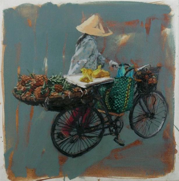 Pineapples, Vietnam - sold