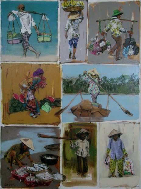 Postcard from Vietnam - sold