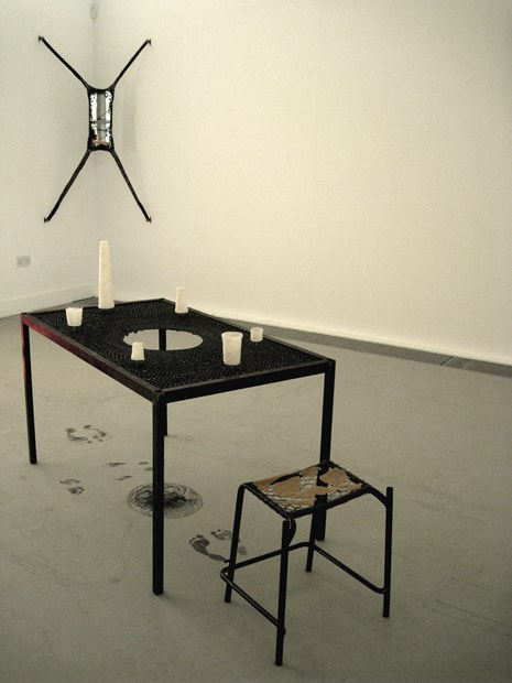 Empty Table; Voids & Vessels