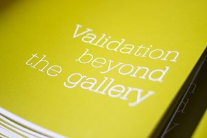 Validation beyond the gallery, by Axis web