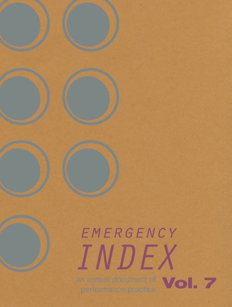 Contribution included in latest publication of Emergency Index Vol.7. Available to preorder