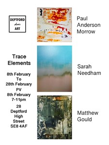 Trace Elements Private View, by Sarah Needham
