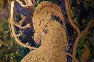 The Cockatoo and Magnolia