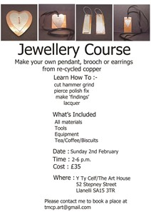 Jewellery Course, by Patricia McParlin