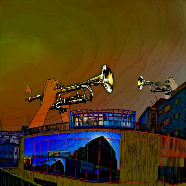 Music For Rooftops - Saturday 28 August at Congress Theatre, Eastbourne, East Sussex, by Cliff Crawford