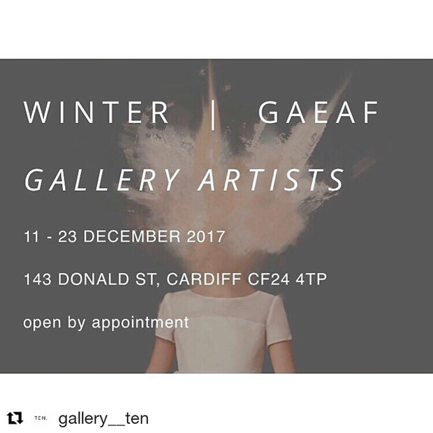 Winter - Gaeaf at Gallery Ten, Cardiff, by Sarah Poland