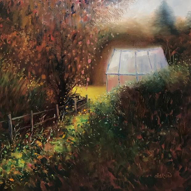 Autumn glow, Wyver Lane gardens