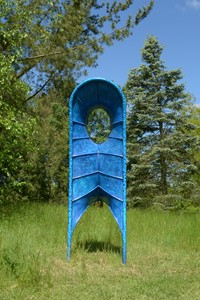 Blue Form O, by Stephen Towns