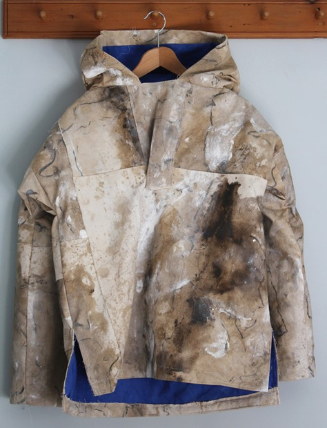 Antarctic cagoule from landscape