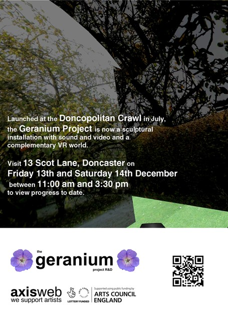 The Geranium Project (December Event)