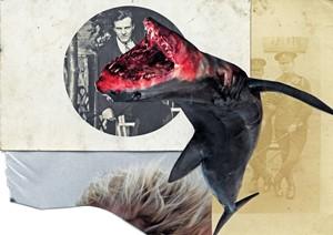 Paper, Scissors, Shark, by Dana Sychugova
