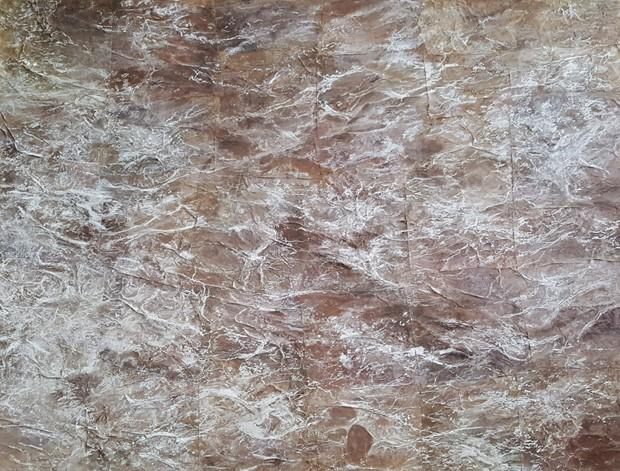 Brown Paper Seascape
