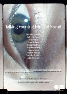 Talking Counting Blinking Noting, by Alex Hetherington