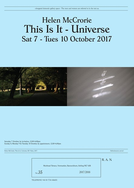 Helen McCrorie, This is It - Universe