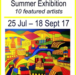 Summer Exhibition, by Kristy Campbell