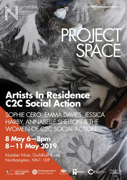 Exhibition - Artists in Residence at C2C Social Action, by Jessica Harby