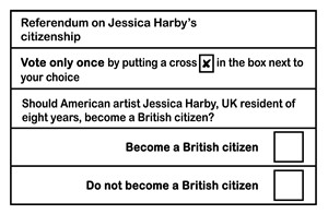 Referendum (Tell Me How Do You Feel), by Jessica Harby