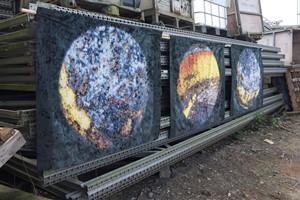 'Solar Grease', by Linda Izan