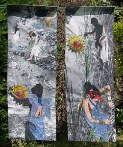 'Homage to Leda and Zeus', by Linda Izan