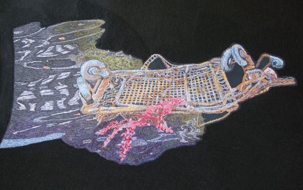 The Treachery of Pollution - Deptford Creek - Credit: Lind P Izan