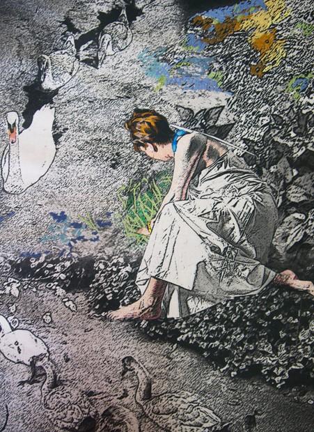 'Homage to Leda and Zeus' - Credit: Linda P Izan