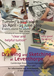Drawing and Sketching Course in Sawbridgeworth, by Julie Arnall