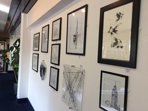 16th Open Exhibition 2018 New Maynard Gallery, by Julie Arnall