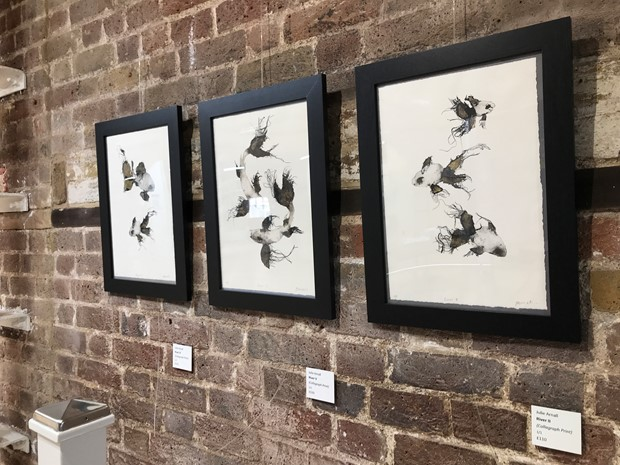 Breathing Space Exhibition July 2021, by Julie Arnall