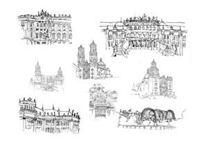 Drawings I, by Julie Arnall