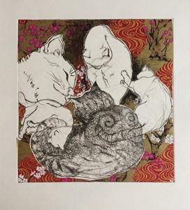 5 Cats, by Julie Arnall