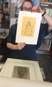 Printmaking Short Courses 2018-present, by Julie Arnall