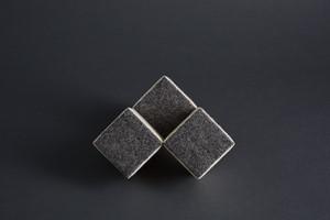 Three Cubes, by richard mcvetis