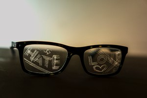 Glasses: Hate n Love, by Stephen Calcutt