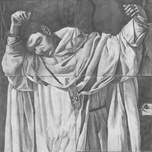 After Zurbaran's 'Saint Serapion', by Bryan Eccleshall