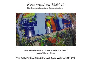 Resurrection The Return of Abstract Expressionism, by Neil Weerdmeester