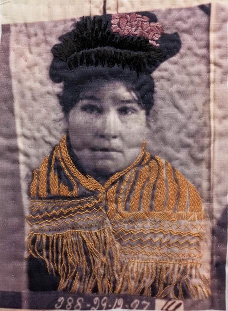 Criminal Quilts Embroidered Images workshop, by Ruth Singer