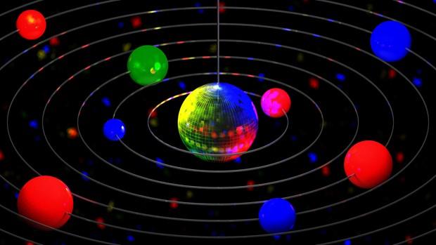 Mirrorball Solar System