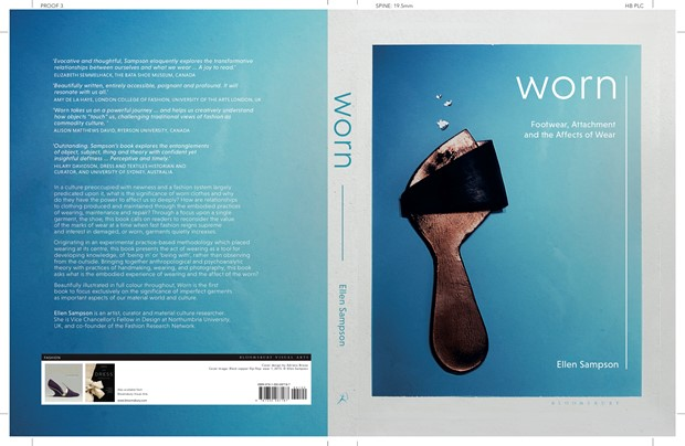 Book Launch,  Worn: Footwear Attachment and the Affects of Wear by Ellen Sampson