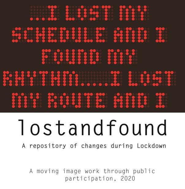 lostandfound, by Darshana Vora
