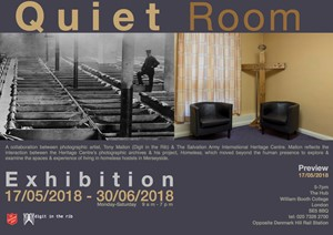 Quiet Room Exhibition, by Tony Mallon