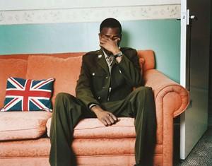 Injured British Iraq War Veteran, 2006, by Stuart Griffiths