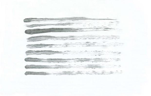 Untitled IV (Brushstroke Series)