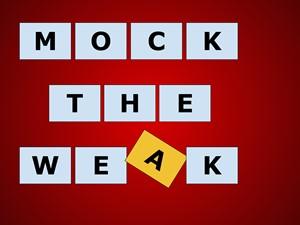 Mock the Weak, by Helen Kilby-Nelson